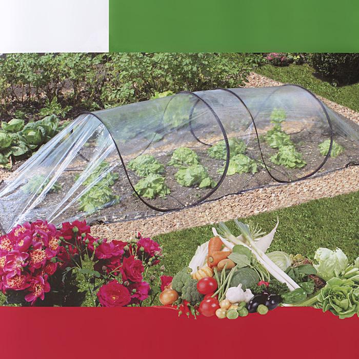 Парник универсальный Green Garden с покрытием из ПВХ, 3 м х 0,8 м х 1,5 м1073Парник Green Garden сконструирован по принципу палаткию В нем используется запатентованная самоскладывающаяся система для максимально быстрой установки и складывания. Парник можно расположить над грядкой и зафиксировать всего за 60 секунд. Не требует много места для хранения.