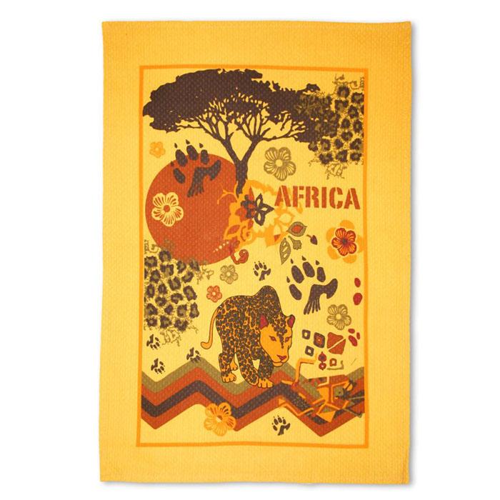 Полотенце Bonita Африка, 40 см х 60 см0101211578Полотенце Bonita Африка изготовлено из натурального хлопка. Ткань имеет вафельную структуру и оформлена различными изображениями, символизирующими Африку. Полотенце идеально впитывает влагу и сохраняет свою необычайную мягкость даже после многих стирок. Полотенце Bonita Африка - отличный вариант для практичной и современной хозяйки.