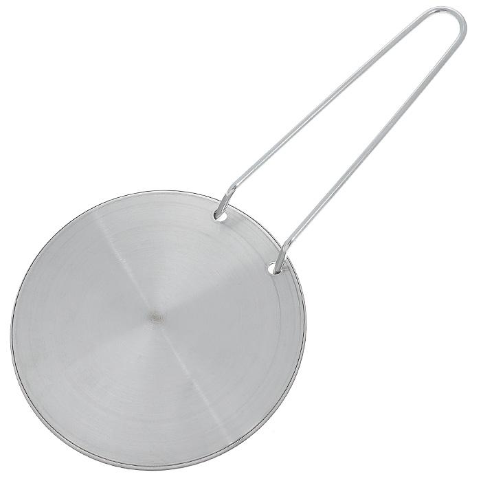 Диск Frabosk для индукционных плит, диаметр 22 см099.02Стальной диск Frabosk позволит готовить на индукционной плите в любимой посуде и не расставаться с ней. Пользоваться им легко: нужно просто поставить индукционный диск на плиту и можно начинать готовить в обычной посуде, не предназначенной для индукционных поверхностей. ИНСТРУКЦИЯ ПО ЭКСПЛУАТАЦИИ ИНДУКЦИОННОГО ДИСКА (СМОТРИ НА ОБОРОТЕ) 1.Посуда, которая ставится на диск, должна иметь такой же или больший диаметра и абсолютно ровное дно. Использование посуды слишком маленького диаметра по отношению к диску может привести к образованию пятен на варочной поверхности (что особенно актуально для экономичных моделей). 2. Нет необходимости выставлять слишком высокую температуру на варочной панели, т.к. индукционный диск обладает высокой теплопроводностью, на средней температуре достигается отличный результат, при этом экономится электроэнергия. 3. Настоятельно рекомендуем не ставить пустую посуду на плиту. В целях экономии...