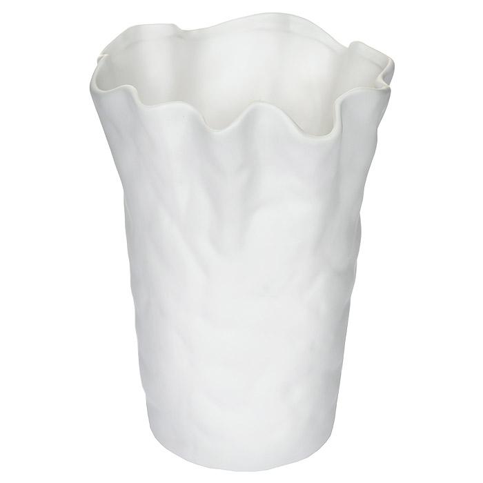 Декоративная ваза Феникс-Презент, высота 23,5 см. Ф21-1766Ф21-1766Декоративная ваза Феникс-Презент, выполненная из керамики, послужит отличным дополнением к интерьеру вашего дома. Ваза имеет волнистые края и оформлена оригинальным рельефным рисунком. Причудливая форма вазы делает этот предмет не просто сосудом для цветов, но и оригинальным сувениром, который радует глаз и создает настроение. Окружая себя красивыми вещами, вы создаете в своем доме атмосферу гармонии, тепла и комфорта.