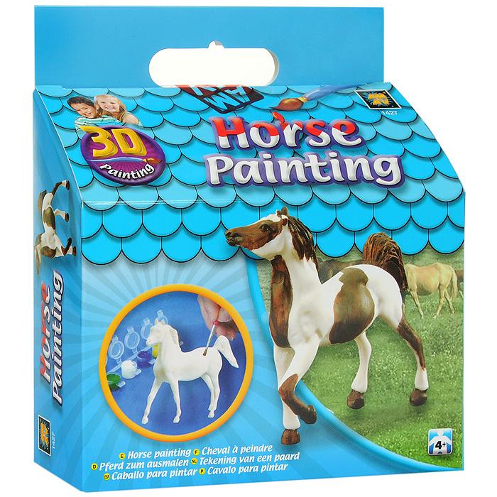 Набор для раскрашивания Amav Разрисуй лошадку 3D