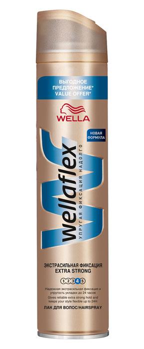 Wellaflex Лак для волос, экстрасильная фиксация, 400 млWF-81161270Лак для волос Wellaflex экстрасильной фиксации обеспечивает надежную фиксацию, сохраняя упругость прически до 24 часов. Не склеивает волосы. Сохраняет эластичность волос, не сушит их. Помогает защитить от УФ-лучей.