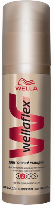 Wellaflex Крем для укладки волос Для горячей укладки, сильная фиксация, 100 млWF-81238980Крем для укладки волос Wellaflex Для горячей укладки обеспечивает прическе более длительную фиксацию до 24 часов. При этом волосы остаются эластичными и полными жизненной энергии. Обеспечивает прическе надежную фиксацию, не склеивая волосы. Сохраняет эластичность волос, не сушит их, защищает от УФ-лучей. Легко счесывается с волос.