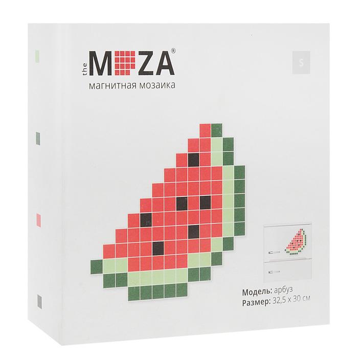 Магнитная мозаика Moza Арбуз, 92 элементаМагнитная мозаика MOZA АрбузМагнитная мозаика Moza Арбуз состоит из 92 разноцветных квадратных магнитов. Собрать мозаику довольно просто: в комплекте прилагается инструкция со схемой. Собрать изображение можно на любой магнитной поверхности, например, на холодильнике. Кроме того, из предложенных в наборе деталей можно собрать не только дольку арбуза, но и человечка и другие фигуры. Такая мозаика понравится как взрослым, так и детям. Порадуйте своих близких оригинальным и красочным изображением на холодильнике. Характеристики: Материал: магнит. Количество элементов: 92 шт. Размер готового изображения: 32,5 см х 30 см. Размер упаковки: 13 см х 12,5 см х 4,5 см.