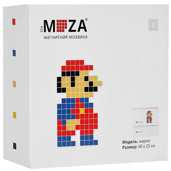Магнитная мозаика Moza Марио, 121 элементМагнитная мозаика MOZA МариоМагнитная мозаика Moza Марио состоит из 121 маленького разноцветного квадратного магнита. Собрать мозаику довольно просто: в комплекте прилагается инструкция со схемой. Собрать изображение можно на любой магнитной поверхности, например, на холодильнике. Кроме того, из предложенных в наборе деталей можно собрать не только человечка, но и другие фигурки. Главное - фантазия. Такая мозаика понравится как взрослым, так и детям. Порадуйте своих близких оригинальным и красочным изображением на холодильнике.