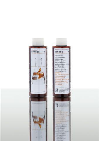 Korres Шампунь для окрашенных волос, с подсолнухом и гаультерией, 250 мл5203069040474Шампунь Korres для окрашенных волос бережно очищает, питает и увлажняет их. Активно восстанавливает, сохраняет цвет окрашенных волос, а также их структуру после химического воздействия - химической завивки. Клинически доказано, что экстракт подсолнуха сохраняет цвет окрашенных волос, защищает от УФ-лучей в три раза эффективнее, чем традиционные антиоксиданты. Витамины F и B5 обладают восстанавливающими свойствами и предотвращают сечение волос, придают блеск при частом мытье и укладке. Не содержит минеральных масел, силикона, пропилен гликоль, этаноламин. Проверено дерматологами. Товар сертифицирован.