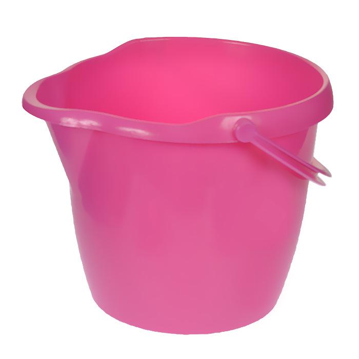 Ведро York, круглое, с носиком, цвет: ярко-розовый, 12 л7105Круглое ведро York изготовлено из высококачественного пластика. Оно легче железного и не подвержено коррозии. Изделие оснащено носиком для слива и удобной пластиковой ручкой. Такое ведро станет незаменимым помощником в хозяйстве. Размер ведра (по верхнему краю): 33 см х 30 см. Высота стенок: 26,5 см. Объем: 12 л.