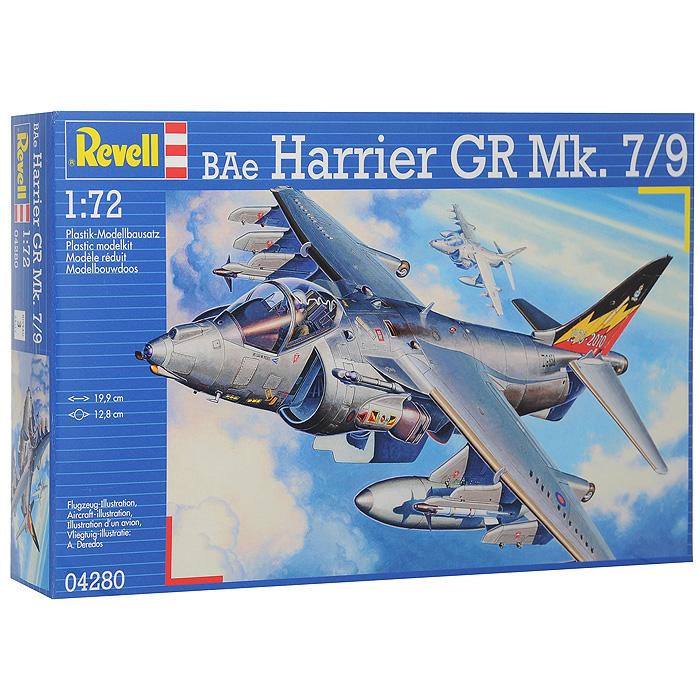 Сборная модель Самолет-штурмовик BAe Harrier GR Mk. 7/904280RСборная модель Самолет-штурмовик BAe Harrier GR Mk. 7/9 позволит вам и вашему ребенку собрать уменьшенную копию одноименного британского самолета. Комплект включает в себя 91 пластиковый элемент для сборки модели и схематичную инструкцию. Процесс сборки развивает интеллектуальные способности, воображение и конструктивное мышление, прививая практические навыки работы со схемами и чертежами.