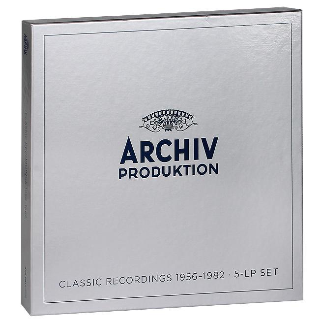Archiv Produktion. Classic Recordings 1956 - 1982 (5 LP)