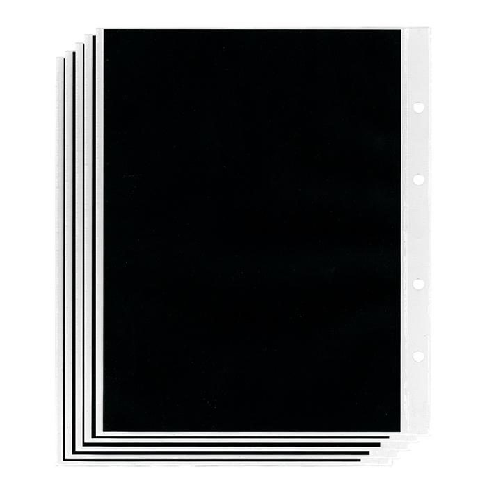Лист в альбом Optima, для банкнот, 1 бона, (10 листов в упаковке). L3101L3101Лист для банкнот выполнен из прозрачного плотного пластика. Содержит вынимающийся черный вкладыш-разделитель, который позволяет использовать листы как в одностороннем, так и двустороннем варианте.