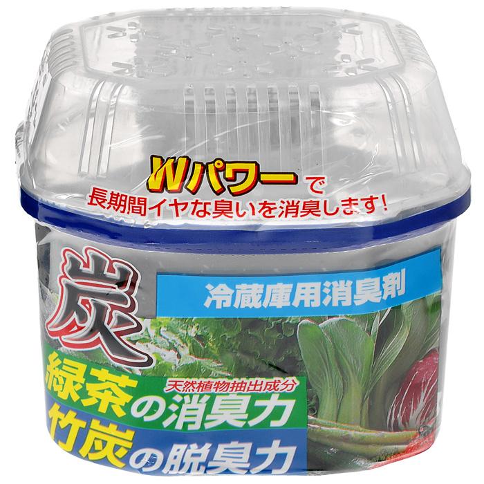 Древесный уголь Nagara для устранения запаха в холодильнике, 180 г2251Экологически чистый и безопасный освежитель - поглотитель запахов состоит только из натуральных компонентов, которые не влияют на качество и вкус продуктов и полностью поглощают все нежелательные посторонние запахи в холодильнике и морозильной камере. Характеристики: Состав: вода, абсорбирующие полимеры 80%, дезодорирующие вещества зеленого чая 1%, бамбуковый уголь, isothiazolone. Вес: 180 г. Размер упаковки: 9 см х 7 см х 9 см. Артикул: 2251. Товар сертифицирован.