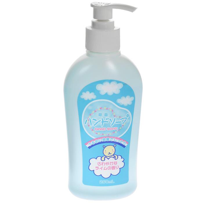 Антибактериальное мыло для рук Nagara, 260 мл1056Антибактериальное жидкое мыло для рук Nagara с приятным ароматом лайма создает обильную пену, которая бережно очищает кожу, оставляя после мытья ощущение свежести и гладкости кожи. Обладает антибактериальными и противовоспалительными свойствами. Не оставляет ощущений сухости и стянутости кожи.