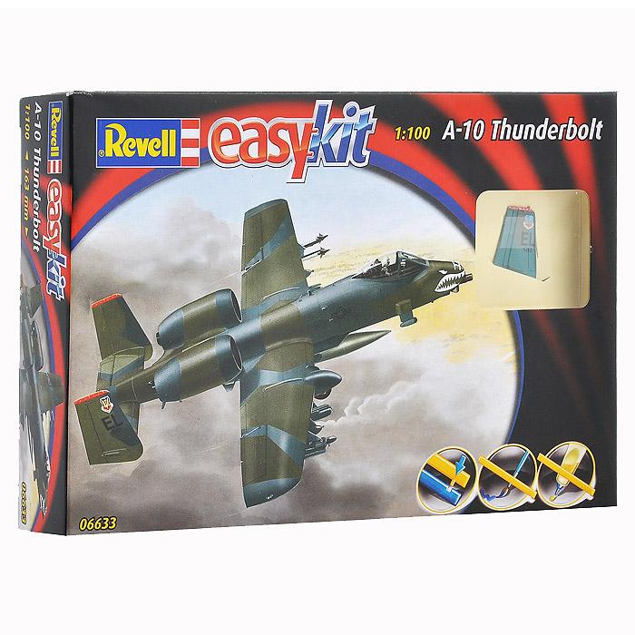Сборная модель Военный самолет A-10 Thunderbolt06633RСборная модель Военный самолет A-10 Thunderbolt позволит вам и вашему ребенку собрать уменьшенную копию одноименного американского военного самолета. Комплект включает в себя 33 пластиковых элемента для сборки модели и схематичную инструкцию. Для сборки этой модели клей и краски не нужны. Предварительно окрашенные детали оснащены пазами для легкого соединения. Процесс сборки развивает интеллектуальные способности, воображение и конструктивное мышление, а также прививает практические навыки работы со схемами и чертежами.