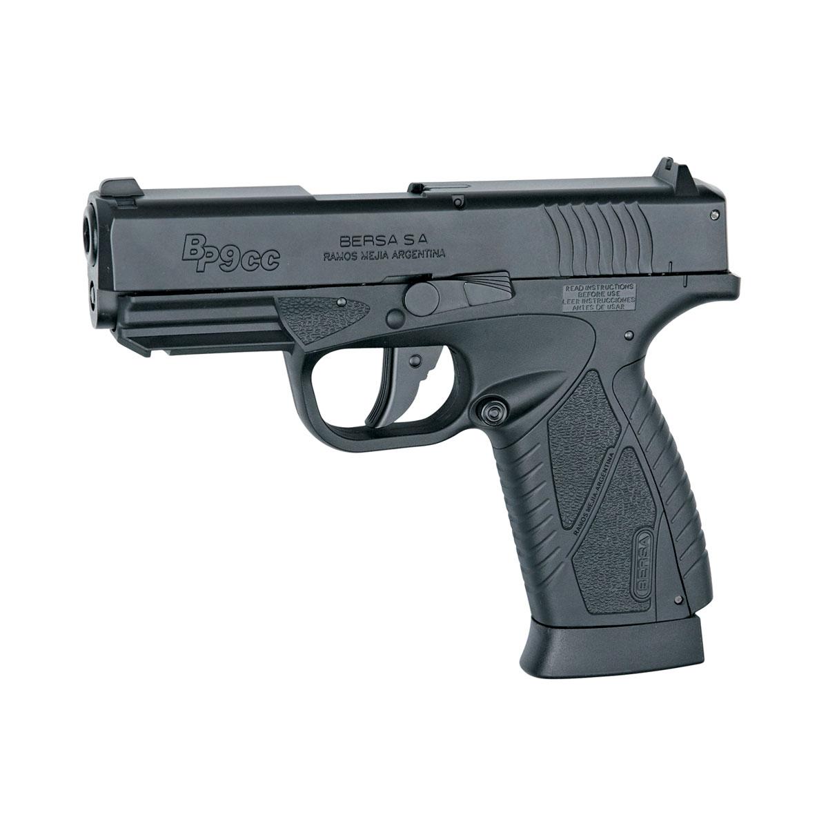 "ASG ASG ""Bersa BP9CC"" пистолет пневматический CO2, NBB, 4,5 мм, цвет: Black (17300)"