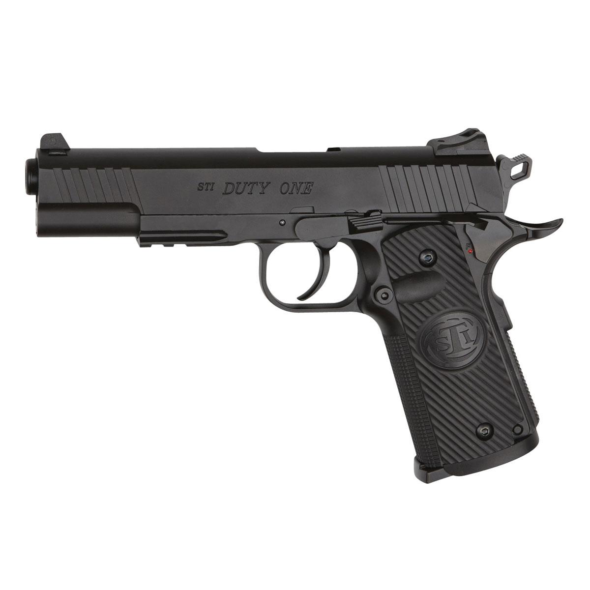 "ASG ASG ""STI Duty One"" пистолет пневматический CO2, 4,5 мм, цвет: Black (16730)"