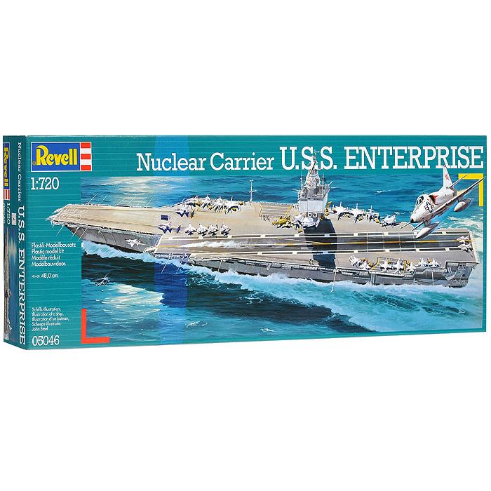 Сборная модель Авианосец U.S.S. Enterprise05046RСборная модель Авианосец U.S.S. Enterprise позволит вам и вашему ребенку собрать уменьшенную копию одноименного американского авианосца. Комплект включает в себя 102 пластиковых элемента для сборки модели и схематичную инструкцию по сборке. Процесс сборки развивает интеллектуальные способности, воображение и конструктивное мышление, а также прививает практические навыки работы со схемами и чертежами.