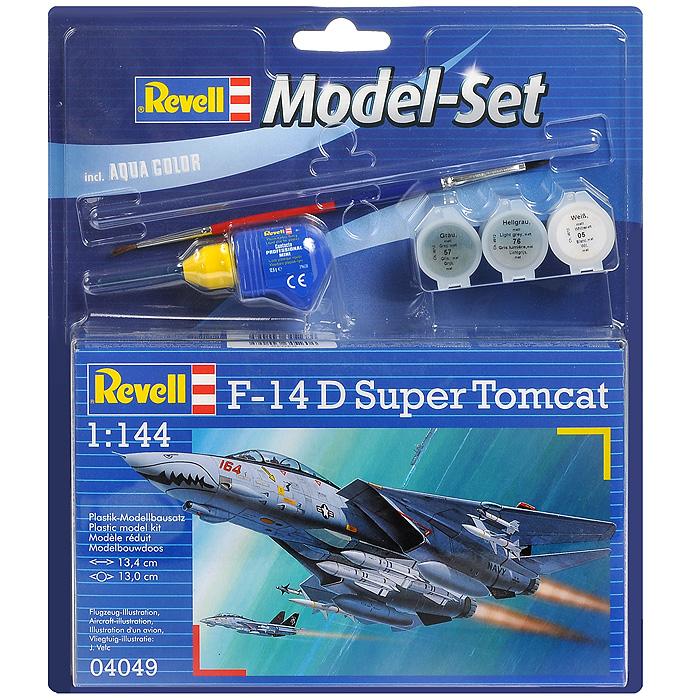 Набор для сборки и раскрашивания модели Самолет F-14 D Super Tomcat64049С помощью набора Самолет F-14 D Super Tomcat вы и ваш ребенок сможете собрать уменьшенную копию одноименного американского истребителя и раскрасить ее. Набор включает в себя 57 пластиковых элементов для сборки модели, краски трех цветов, клей, двустороннюю кисточку и схематичную инструкцию по сборке. Благодаря набору ваш ребенок научится пространственно мыслить, различать цвета, творчески решать поставленные задачи, разовьет мелкую моторику рук, внимание, терпение, кругозор и мышление.