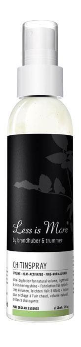 Less is More Лосьон-спрей для волос Хитин, для укладки, придания блеска и естественного объема, 150 мл