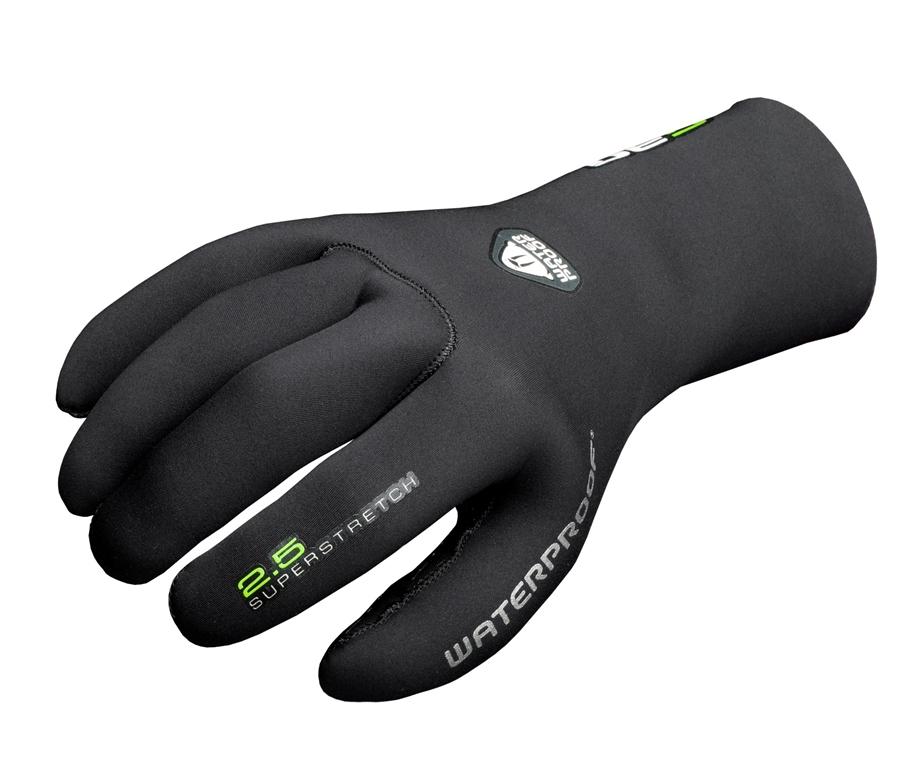 Неопреновые перчатки Waterproof G30, толщина 2,5 мм. Размер XSWP 308021Комфортные эластичные перчатки Waterproof G30 разработаны на базе знаменитой серии более теплых моделей G1, но адаптированы для использования в более теплых и менее суровых условиях. Швы проклеены и прошиты провощенной нейлоновой нитью высшего качества. Нескользящее покрытие на ладони.