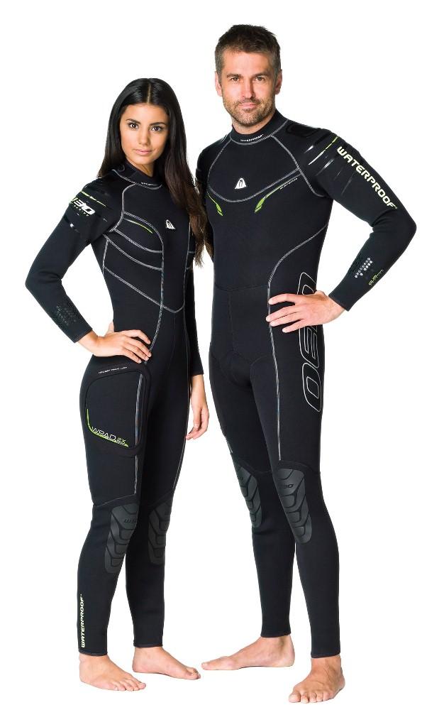 Гидрокостюм Waterproof W30, мужской. Размер XLWP 300126Эластичный материал и тянущиеся плоские швы обеспечивают максимально возможную свободу движений - то, что нужно любителям водных видов спорта. Накладки на плечах не скользят и защищают материал костюма от истирания. Молния с бегунком из нержавеющей стали. Нескользящее покрытие сзади. Резиновые наколенники. Модель оснащена устройством WPAD - или док персональных аксессуаров. Это искусно сконструированный так называемый стыковочный узел на правом бедре для крепления специальных аксессуаров - например, кармана Tech Pocket (приобретается отдельно). Характеристики: Размер: XL. Материал: 80% резина, 20% неопрен. Длина брючины по внутреннему шву: 78 см. Длина рукава по внутреннему шву: 50 см. Толщина неопрена: 2,5 мм. Артикул: WP 300126. Размер упаковки: 59 см х 38 см х 8 см.