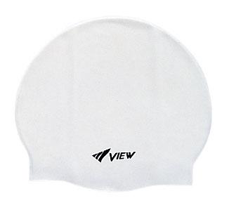 Шапочка для плавания View, силиконовая, цвет: белыйTS V-31 WШапочка для плавания View выполнена из мягкого, но прочного силикона и отличается удобством. 100% гипоаллергенный силикон не потеряет цвет со временем. Шапочка украшена небольшим логотипом View. Круглый и гладкий дизайн для лучшего прилегания и уменьшенного сопротивления воды. Благодаря нескользящей внутренней поверхности и устойчивости к растяжению, шапочку легко надевать. Модель подходит детям и взрослым.