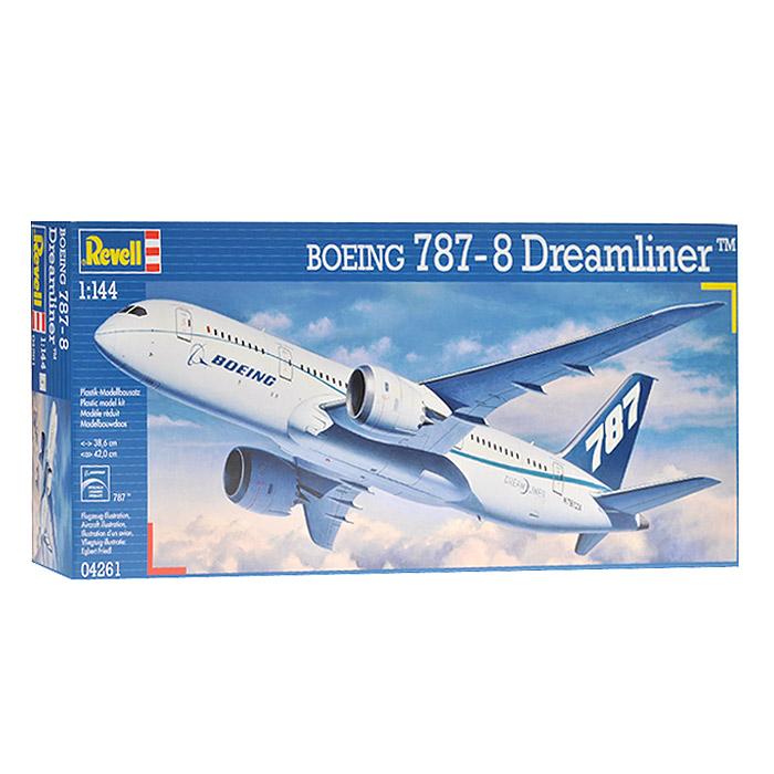 Сборная модель Пассажирский самолет Boeing 787 Dreamliner04261RСборная модель Пассажирский самолет Boeing 787 Dreamliner позволит вам и вашему ребенку собрать уменьшенную копию одноименного пассажирского самолета. Комплект включает в себя 72 пластиковых элемента для сборки модели и схематичную инструкцию. Процесс сборки развивает интеллектуальные способности, воображение и конструктивное мышление,а также прививает практические навыки работы со схемами и чертежами.