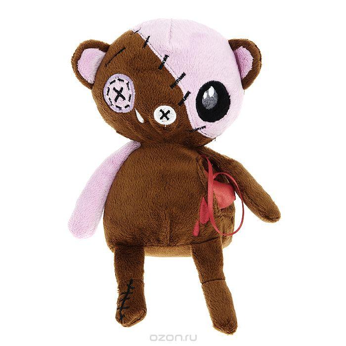 Мягкая игрушка Magic Bear Toys Медведь живое сердце, 20 смGS8550-B-23Оригинальная дизайнерская игрушка Magic Bear Toys Медведь живое сердце выполнена в виде медведя с атласным сердцем, вынимающимся из кармашка. Игрушка изготовлена из нетоксичного текстильного материала с коротким ворсом, благодаря чему ее будет приятно держать в руках. Такая игрушка порадует вас оригинальностью идеи и высоким качеством исполнения и станет прекрасным подарком для детей и взрослых.