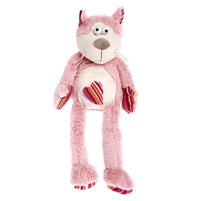 Мягкая игрушка Jackie Chinoco Розовый кот, 30 смJC-12918-PОригинальная дизайнерская игрушка Jackie Chinoco Розовый кот выполнена в виде котика с полосатым сердечком на животе. Игрушка изготовлена из нетоксичного текстильного материала с ворсом средней длины, благодаря чему ее будет приятно держать в руках. Такая игрушка порадует вас оригинальностью идеи и высоким качеством исполнения и станет прекрасным подарком для детей и взрослых.