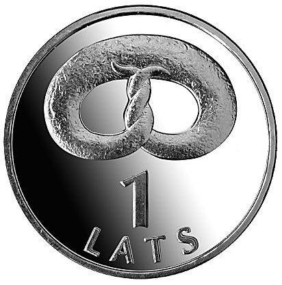 Монета номиналом 1 лат Бублик. Медно-никелевый сплав. Латвия, 2005 годL2070 EМонета номиналом 1 лат Бублик. Медно-никелевый сплав. Латвия, 2005 год Диаметр, мм: 21,75 Материал: медно-никелевый сплав. Состояние: хорошее, из обращения.