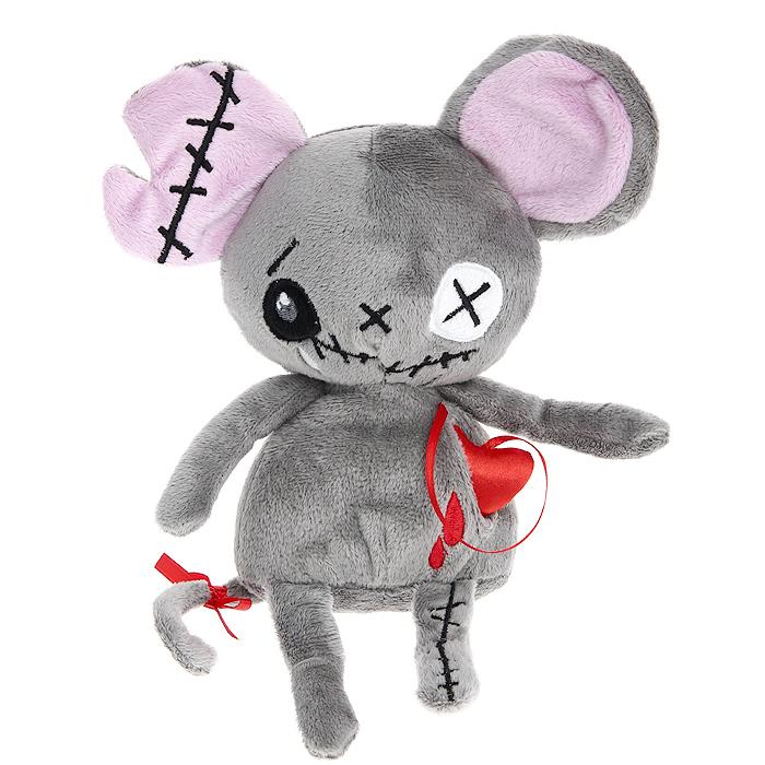 Мягкая игрушка Magic Bear Toys Мышь живое сердце, 20 смGS8550-M-23Оригинальная дизайнерская игрушка Magic Bear Toys Мышь живое сердце выполнена в виде серой мышки с атласным сердцем, вынимающимся из кармашка. Игрушка изготовлена из нетоксичного текстильного материала с коротким ворсом, благодаря чему ее будет приятно держать в руках. Такая игрушка порадует вас оригинальностью идеи и высоким качеством исполнения и станет прекрасным подарком для детей и взрослых.