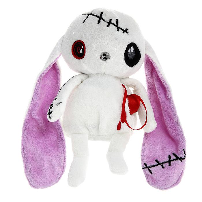 Мягкая игрушка Magic Bear Toys Заяц живое сердце, 20 смGS8550-R-23Оригинальная дизайнерская игрушка Magic Bear Toys Заяц живое сердце выполнена в виде белого зайца с атласным сердцем, вынимающимся из кармашка. Игрушка изготовлена из нетоксичного текстильного материала с коротким ворсом, благодаря чему ее будет приятно держать в руках. Такая игрушка порадует вас оригинальностью идеи и высоким качеством исполнения и станет прекрасным подарком для детей и взрослых.