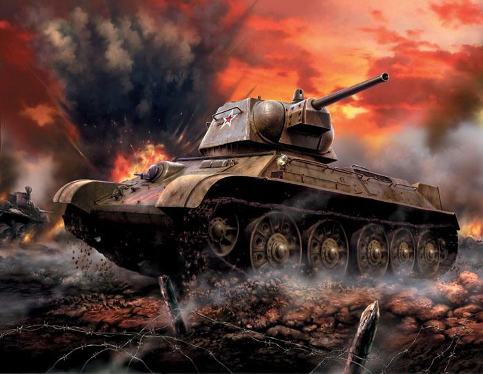 Сборная модель Советский средний танк Т-34/763525Сборная модель Советский средний танк Т-34/76 привлечет внимание не только ребенка, но и взрослого и позволит своими руками создать уменьшенную копию известного танка. Средний танк Т-34/76 - самый известный танк Второй мировой войны. Данная модификация, появившаяся в 1943 году, имеет измененную башню, в отличие от модели 1942 г. За счет этого появилась возможность разместить в башне радиостанцию и увеличить боезапас. Машины этой версии принимали участие в битве на Курской дуге и в других великих сражениях.