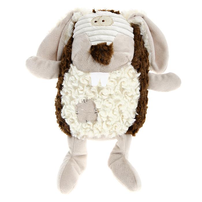 Мягкая игрушка Jackie Chinoco Коричневый кролик, 27 смJC-12992-RОригинальная дизайнерская игрушка Jackie Chinoco Коричневый кролик выполнена в виде кролика с заплаткой на животе. Игрушка изготовлена из нетоксичного текстильного материала с ворсом средней длины, благодаря чему ее будет приятно держать в руках. Такая игрушка порадует вас оригинальностью идеи и высоким качеством исполнения и станет прекрасным подарком для детей и взрослых.