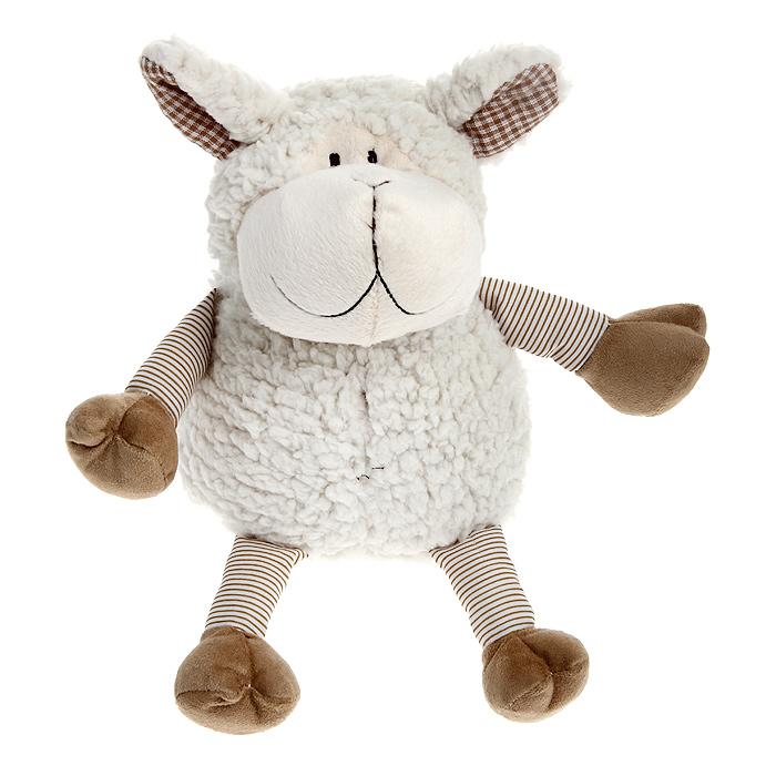 Мягкая игрушка Magic Bear Toys Молочная овечка, 20 смJC-56983-SОригинальная дизайнерская игрушка Magic Bear Toys Молочная овечка выполнена в виде забавной овечки с полосатыми ножками. Игрушка изготовлена из нетоксичного текстильного материала с коротким ворсом, благодаря чему ее будет приятно держать в руках. Такая игрушка порадует вас оригинальностью идеи и высоким качеством исполнения и станет прекрасным подарком для детей и взрослых.