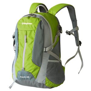 "Рюкзак городской KingCamp ""Peach 28L"", цвет: зеленый, серый"