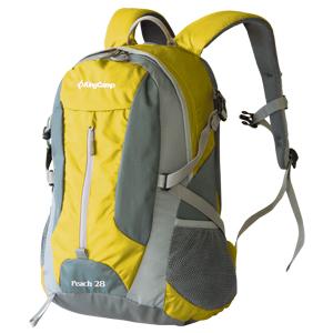 Рюкзак городской KingCamp Peach 28L, цвет: желтый