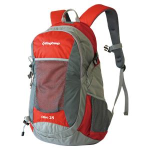 Рюкзак городской KingCamp Oliv 25L, цвет: красный