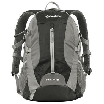Рюкзак городской KingCamp Peach 28L, цвет: черный, серый