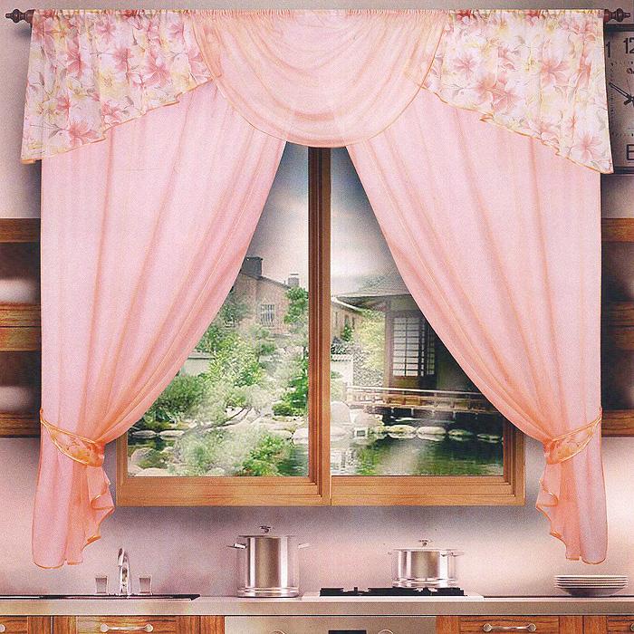 Комплект штор Мадагаскар, на ленте, цвет: персиковый, высота 170 см020БКомплект штор Мадагаскар, изготовленный из полиэстера персикового цвета, органично впишется в интерьер комнаты. В набор входит две легкие шторы и цветочный ламбрекен. Также для более изящного расположения штор на окне прилагаются подхваты. Все элементы комплекта на шторной ленте для собирания в сборки. Характеристики: Материал: 100% полиэстер. Цвет: персиковый. Размер упаковки: 26 см х 2 см х 38 см. Производитель: Польша. Изготовитель: Россия. Артикул: 020Б. В комплект входит: Штора - 2 шт. Размер (ВхШ): 170 см х 150 см. Ламбрекен - 1 шт. Размер (ВхШ): 50 см х 300 см. Подхват - 2 шт. УВАЖАЕМЫЕ КЛИЕНТЫ! Обращаем ваше внимание на цвет изделия. Цветовой вариант комплекта, данного в интерьере, служит для визуального восприятия товара. Цветовая гамма данного комплекта представлена на отдельном изображении фрагментом ткани.