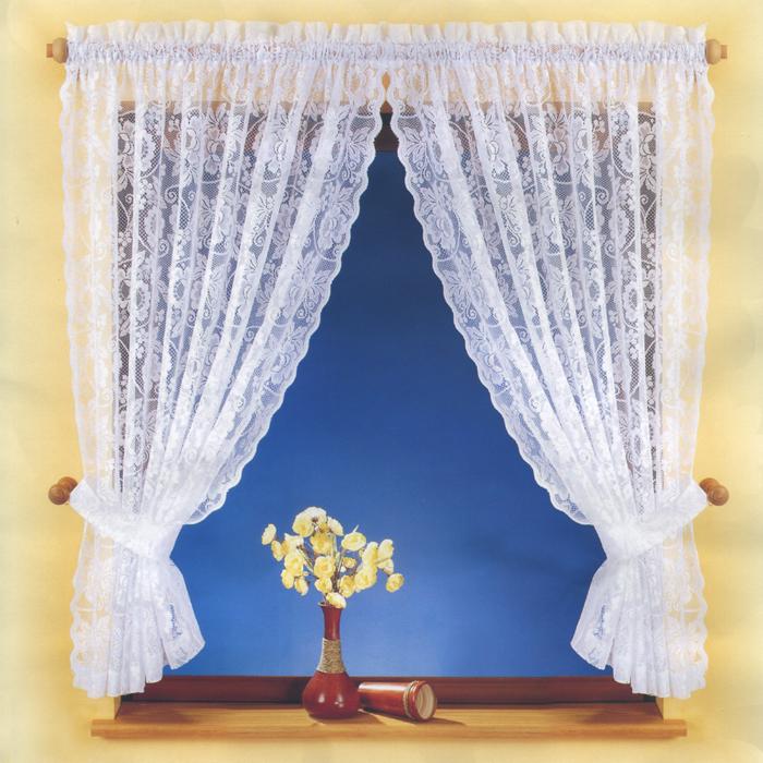 Комплект штор для кухни Ania, на кулиске, цвет: белый, высота 150 см716579Комплект штор Ania, изготовленный из полиэстера белого цвета, органично впишется в интерьер кухни. В набор входят две легкие шторы. Также для более изящного расположения штор на окне прилагается два подхвата. Шторы оснащены кулиской для крепления на круглый карниз. Характеристики: Материал: 100% полиэстер. Цвет: белый. Размер упаковки: 27 см х 36 см х 5 см. Артикул: 716579. В комплект входит: Штора - 2 шт. Размер (Ш х В): 150 см х 150 см. Подхват - 2 шт. Фирма Wisan на польском рынке существует уже более пятидесяти лет и является одной из лучших польских фабрик по производству штор и тканей. Ассортимент фирмы представлен готовыми комплектами штор для гостиной, детской, кухни, а также текстилем для кухни (скатерти, салфетки, дорожки, кухонные занавески). Модельный ряд отличает оригинальный дизайн, высокое качество. Ассортимент продукции постоянно пополняется.