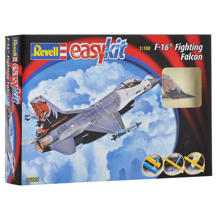 Сборная модель Боевой истребитель F-16 Fighting Falcon06644RСборная модель истребителя F-16 Fighting Falcon позволит вам и вашему ребенку собрать уменьшенную копию одноименного американского боевого истребителя. Комплект включает в себя 21 пластиковый элемент для сборки модели и схематичную инструкцию. Для сборки этой модели клей и краски не нужны. Предварительно окрашенные детали оснащены пазами для легкого соединения. Процесс сборки развивает интеллектуальные способности, воображение и конструктивное мышление, а также прививает практические навыки работы со схемами и чертежами.