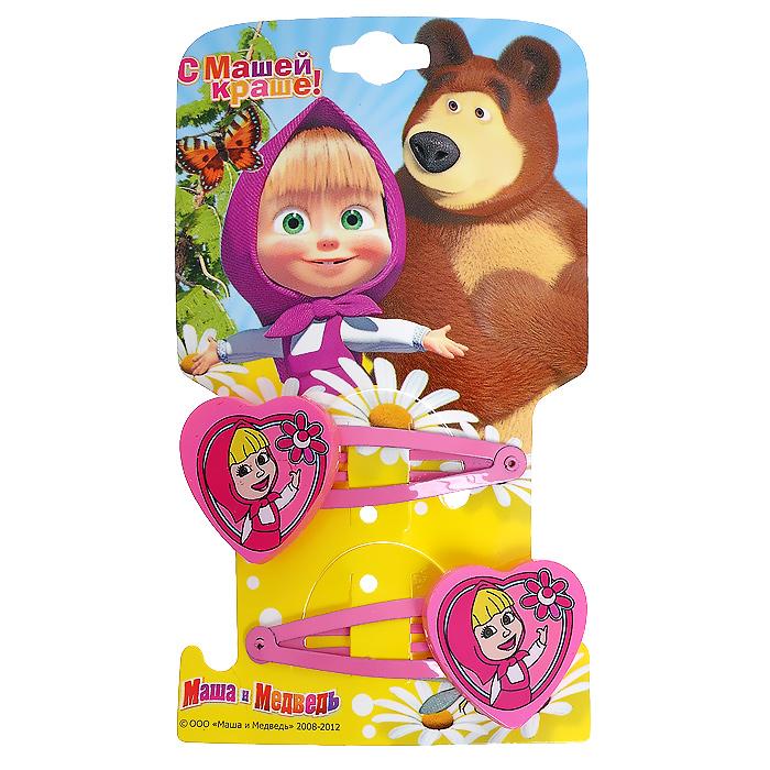 Заколка для волос Маша и медведь