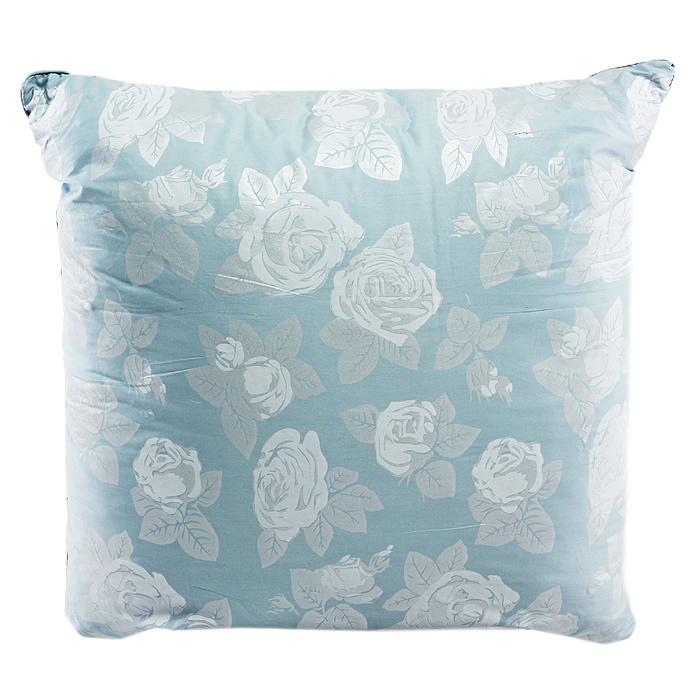 Подушка Rosalia, цвет: голубой, 68 х 68 см111031020-РСМягкая и легкая подушка Rosalia не оставит равнодушными тех, кто ценит красоту и комфорт. Чехол выполнен из сатина с цветочным узором розы, внутри - наполнитель экофайбер. Этот наполнитель очень теплый, гипоаллергенный, не впитывает пыль и запахи. Благодаря ему изделия сохраняют форму и объем долгое время. Объем подушки можно регулировать. Подушка упакована в пластиковую сумку-чехол, закрывающуюся на застежку-молнию. Можно стирать в стиральной машине. Характеристики: Материал чехла: сатин (100% хлопок). Наполнитель: экофайбер (полиэфирное волокно). Размер подушки: 68 см х 68 см. Цвет: голубой. Артикул: 111031020-РС. ТМ Primavelle - качественный домашний текстиль для дома европейского уровня, завоевавший любовь и признательность покупателей. ТМ Primavelle рада предложить вам широкий ассортимент, в котором представлены: подушки, одеяла, пледы, полотенца, покрывала, комплекты постельного белья. ТМ Primavelle -...