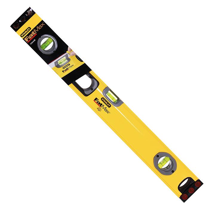 """Уровень Stanley """"FatMax Level"""", 3 капсулы, цвет: желтый, 60 см 1-43-524"""