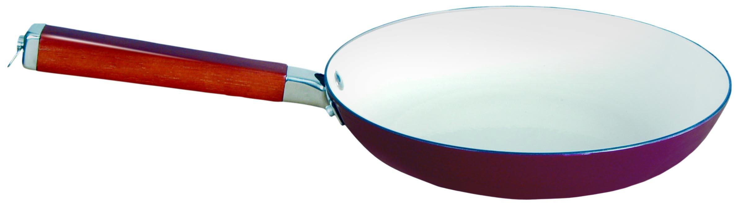 Сковорода Winner, чугунная, цвет: бордо. Диаметр 24 смWR-6201Сковорода Winner выполнена из высококачественного чугуна и внутри и снаружи покрыта эмалью, благодаря которому приобретает уникальные свойства и эксплуатационные характеристики. Сковорода имеет удобную эргономичную ручку, выполненную из сочетания дерева и нержавеющей стали. В процессе приготовления рекомендуется использовать деревянные или пластиковые лопатки. Не используйте металлические губки и острые предметы, чтобы удалить остатки пищи с посуды, а также отбеливатели и моющие средства содержащие хлор. Подходит для использования на индукционной плите. Рекомендована ручная чистка. Характеристики: Материал: чугун, дерево, нержавеющая сталь. Диаметр сковороды: 24 см. Высота стенки: 5 см. Длина ручки: 19 см. Производитель: Китай. Размер упаковки: 44 см х 25 см х 5 см. Артикул: WR-6201.