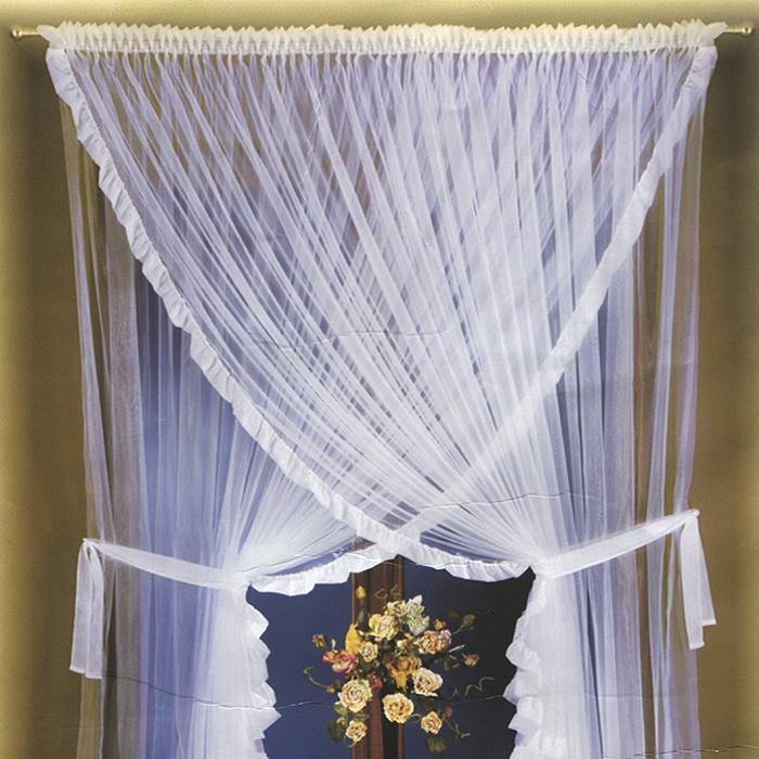 Комплект штор Rarsana, цвет: белый, высота 250 см681860Комплект легких штор Rarsana белого цвета станет великолепным украшением любого окна. Вуалевые шторы из полиэстера с блестящим отливом сшиты между собой верхней частью, по краям изделий атласные сборки. Для более изящного расположения штор на окне прилагаются подхваты. Все элементы комплекта на шторной ленте для собирания в сборки и на кулиске для круглого карниза. Характеристики: Материал: 100% полиэстер. Цвет: белый. Размер упаковки: 25 см х 36 см х 10 см. Артикул: 681860. В комплект входит: Штора - 1 шт. Размер (ШхВ): 250 см х 250 см. Штора - 1 шт. Размер (ШхВ): 250 см х 250 см. Фирма Wisan на польском рынке существует уже более пятидесяти лет и является одной из лучших польских фабрик по производству штор и тканей. Ассортимент фирмы представлен готовыми комплектами штор для гостиной, детской, кухни, а также текстилем для кухни (скатерти, салфетки, дорожки, кухонные занавески). Модельный ряд отличает оригинальный...