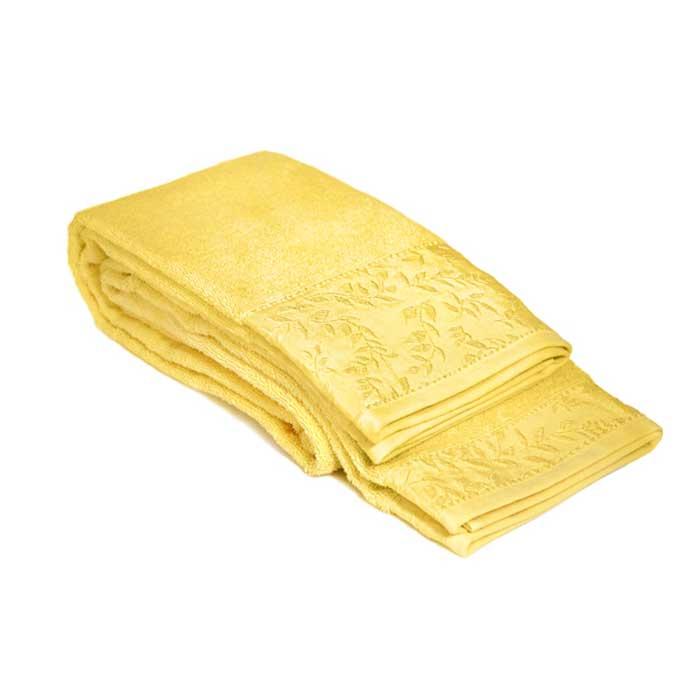 Полотенце махровое Tete-a-Tete, цвет: лимонный, 50 см х 90 см. Т-МП-7185-01-02Т-МП-7185-01-02Махровое полотенце Tete-a-Tete, изготовленное из натурального хлопка, подарит массу положительных эмоций и приятных ощущений. Полотенце лимонного цвета добавит экзотики и яркости в ваш дом. Полотенце отличается нежностью и мягкостью материала, утонченным дизайном и превосходным качеством. Оно прекрасно впитывает влагу, быстро сохнет и не теряет своих свойств после многократных стирок. Махровое полотенце Tete-a-Tete станет достойным выбором для вас и приятным подарком для ваших близких. Полотенце упаковано в стильную и компактную подарочную коробку с прозрачной стенкой.