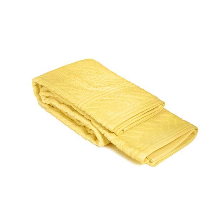 Полотенце махровое Tete-a-Tete, цвет: лимонный, 90 х 150 см Т-МП-7161-03-02Т-МП-7161-03-02Махровое полотенце Tete-a-Tete изготовлено из натурального хлопка. Полотенце лимонного цвета поднимет настроение, а высокая плотность и мягкость материала подарит массу положительных эмоций и приятных ощущений. Полотенце отличается утонченным дизайном и превосходным качеством, фактура линий навеяна природными мотивами. Полотенце прекрасно впитывает влагу, быстро сохнет и не теряет своих свойств после многократных стирок. Махровое полотенце Tete-a-Tete станет достойным выбором для вас и приятным подарком для ваших близких. Полотенце упаковано в стильную и компактную подарочную коробку с прозрачной стенкой. Характеристики: Материал: 100% хлопок. Размер полотенца: 90 см х 150 см. Размер упаковки: 38 см х 21 см х 7,5 см. Плотность: 520 г/м2. Цвет: лимонный. Артикул: Т-МП-7161-03-02.