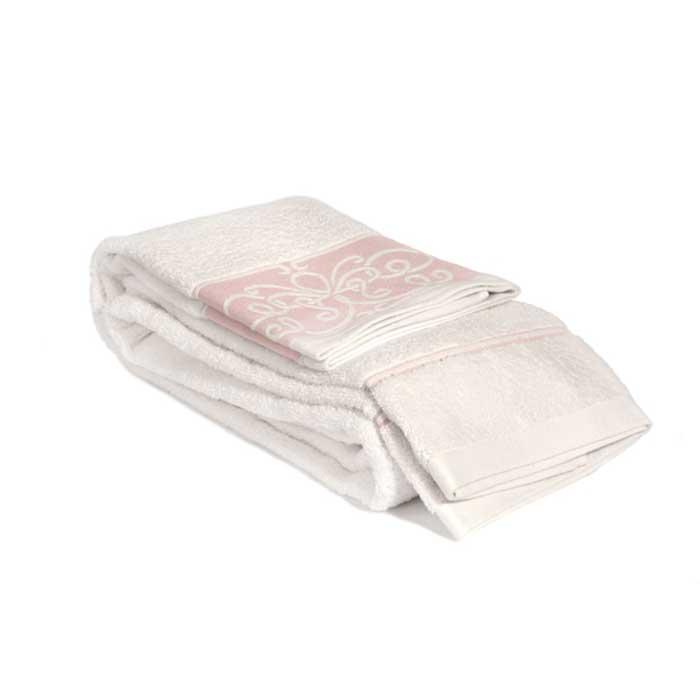 Полотенце махровое Tete-a-Tete, цвет: белый, розовый, 90 х 150 см Т-МП-6463-03-12Т-МП-6463-03-12Махровое полотенце Tete-a-Tete, изготовленное из натурального хлопка, подарит массу положительных эмоций и приятных ощущений. Полотенце белого цвета декорировано розовым бордюром, украшенным арабесками. Полотенце отличается нежностью и мягкостью материала, утонченным дизайном и превосходным качеством. Оно прекрасно впитывает влагу, быстро сохнет и не теряет своих свойств после многократных стирок. Махровое полотенце Tete-a-Tete станет достойным выбором для вас и приятным подарком для ваших близких. Полотенце упаковано в стильную и компактную подарочную коробку с прозрачной стенкой.