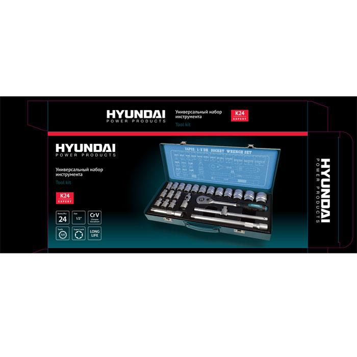 """����� �������� ������� � ��������� Hyundai, 1/2"""", 24 ��������"""